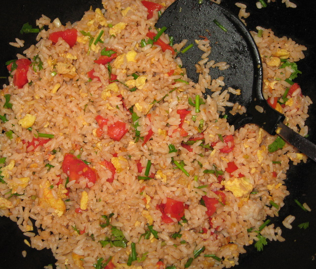 Fried rice lao style mak nao james used to make something like this with his lao roommates its another easy and yummy way to use leftover rice like arroz con leche and nasi goreng forumfinder Image collections
